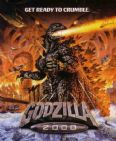 Godzilla 2000 Movie Poster T Shirt. Vintage Japanese Monster Film Tee